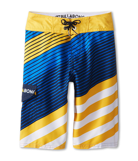 Billabong Kids - Slice Boardshorts (Big Kids) (Bright Blue) Boy's Swimwear
