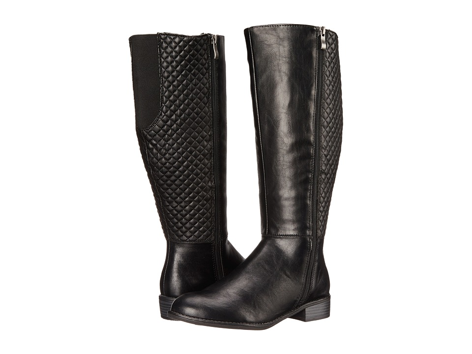LifeStride - Sabella Wide Shaft (Black) Women's Shoes