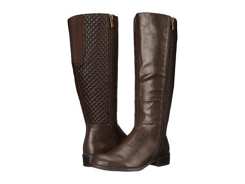 LifeStride - Sabella Wide Shaft (Dark Brown) Women's Shoes
