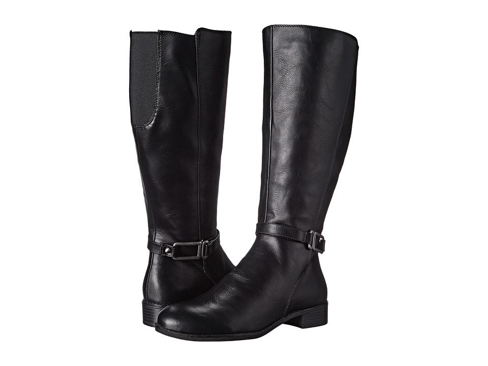 LifeStride - Santino Wide Shaft (Black) Women's Shoes