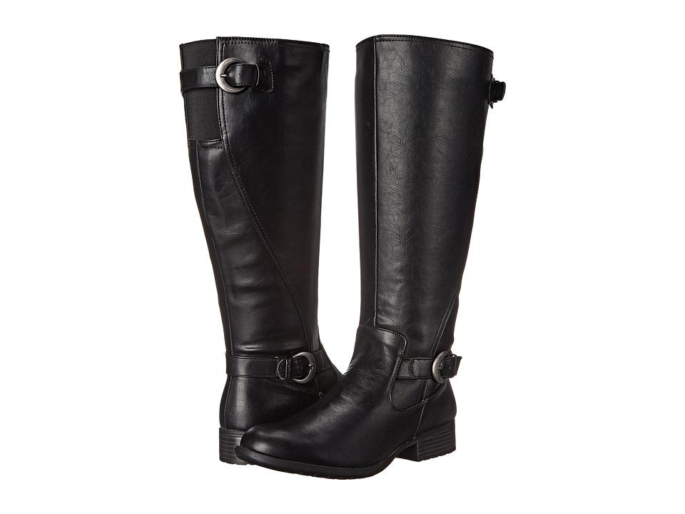 LifeStride - Xylans Wide Shaft (Black) Women's Shoes