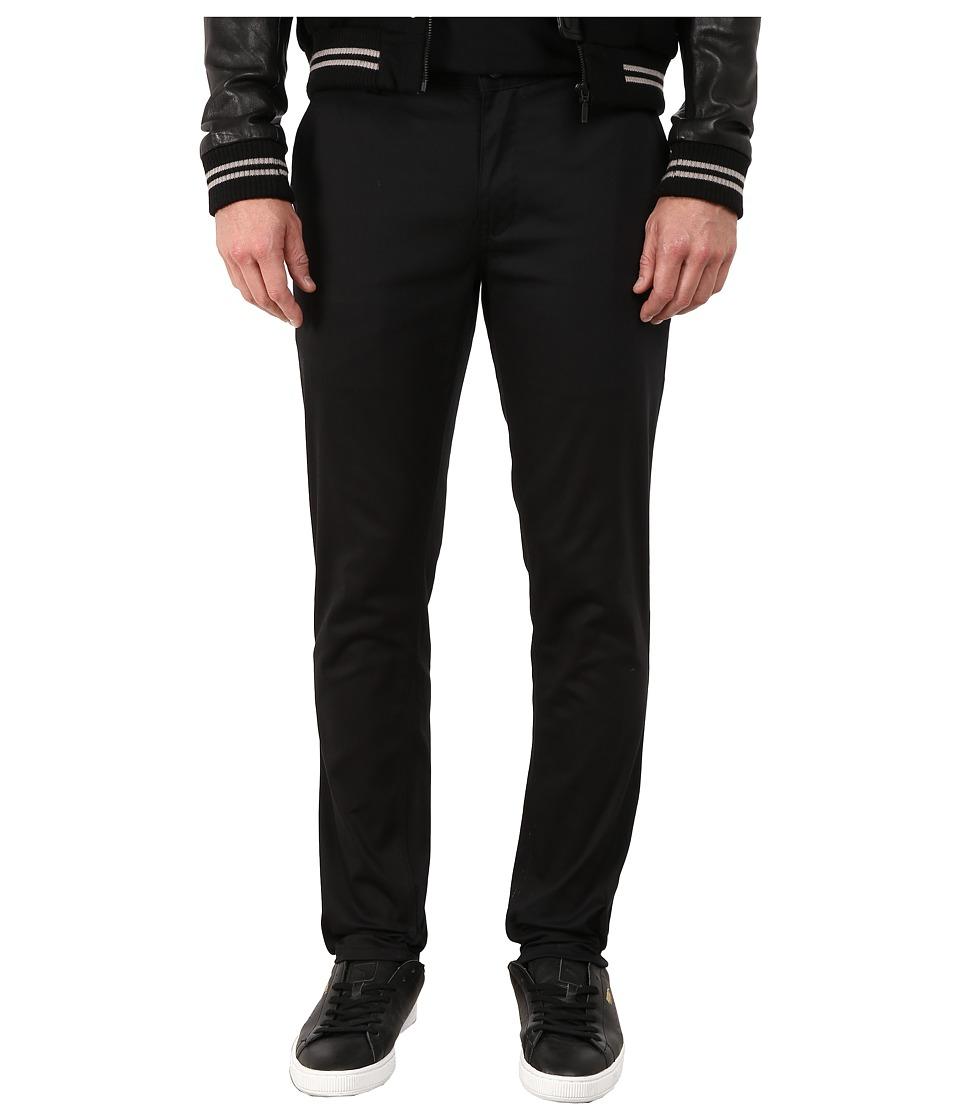 HUF - Fulton Chino Slim Pants (Black) Men's Casual Pants