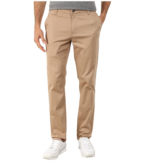 HUF - Fulton Chino Slim Pants (Khaki) Men's Casual Pants