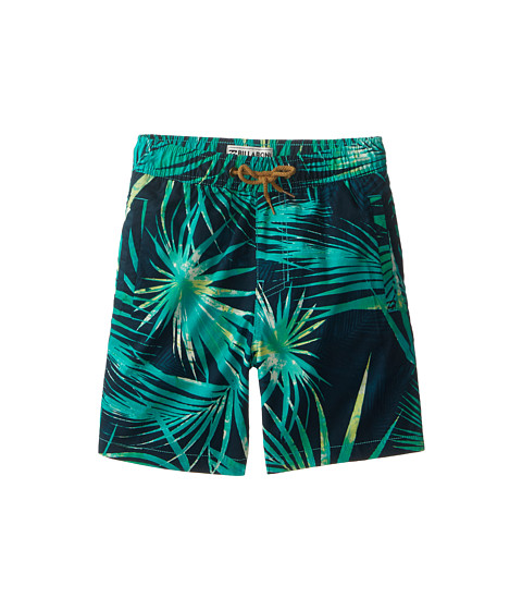 Billabong Kids - Palmdale Elastic Boardshorts (Big Kids) (Marine) Boy
