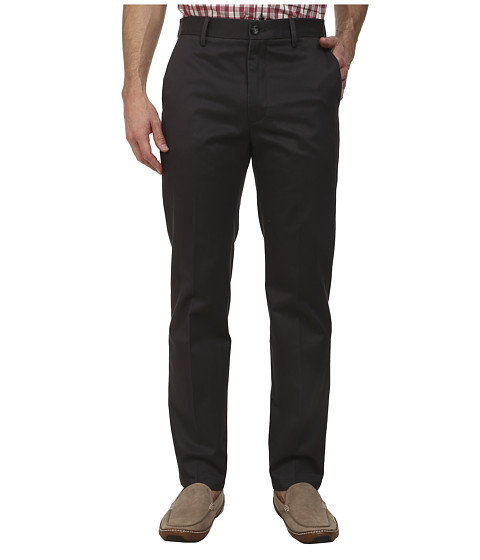 Dockers Men's - Signature Khaki D1 Slim Fit Flat Front (Steelhead) Men's Dress Pants