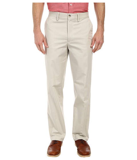 Dockers Men's - Signature On the Go Khaki Pants (Porcelain Khaki) Men's Casual Pants