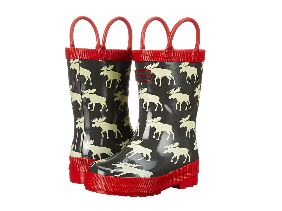 Hatley Kids - Rainboots (Toddler/Little Kid) (Moose) Boys Shoes