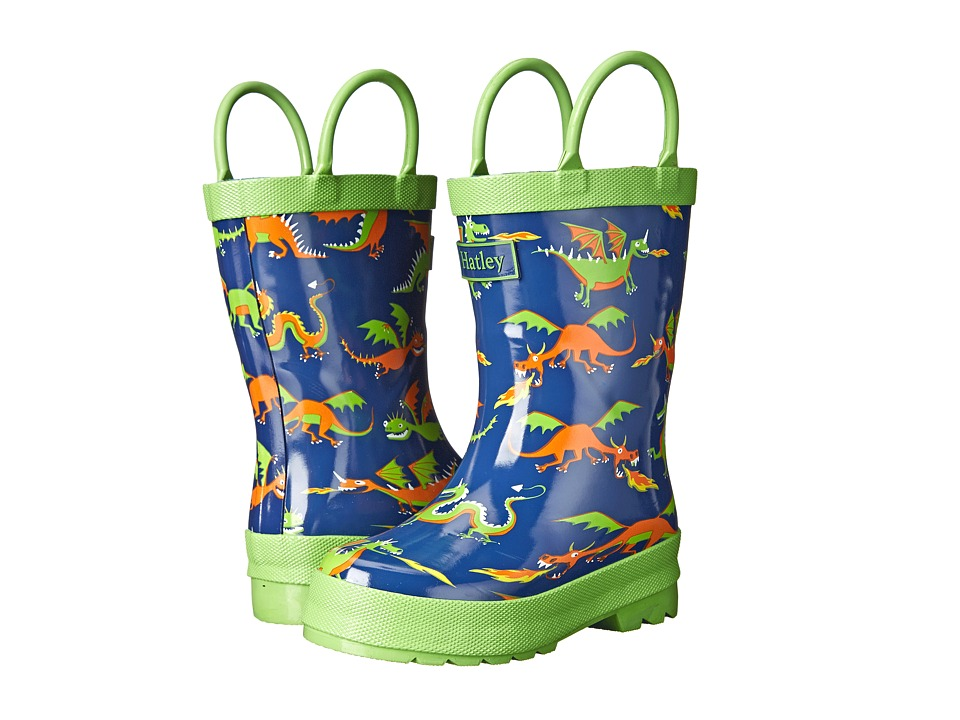 Hatley Kids - Rainboots (Toddler/Little Kid) (Dragons) Boys Shoes