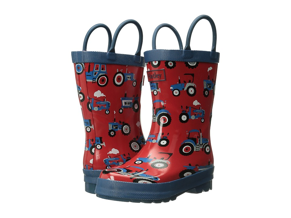 Hatley Kids - Rainboots (Toddler/Little Kid) (Farm Tractors) Boys Shoes