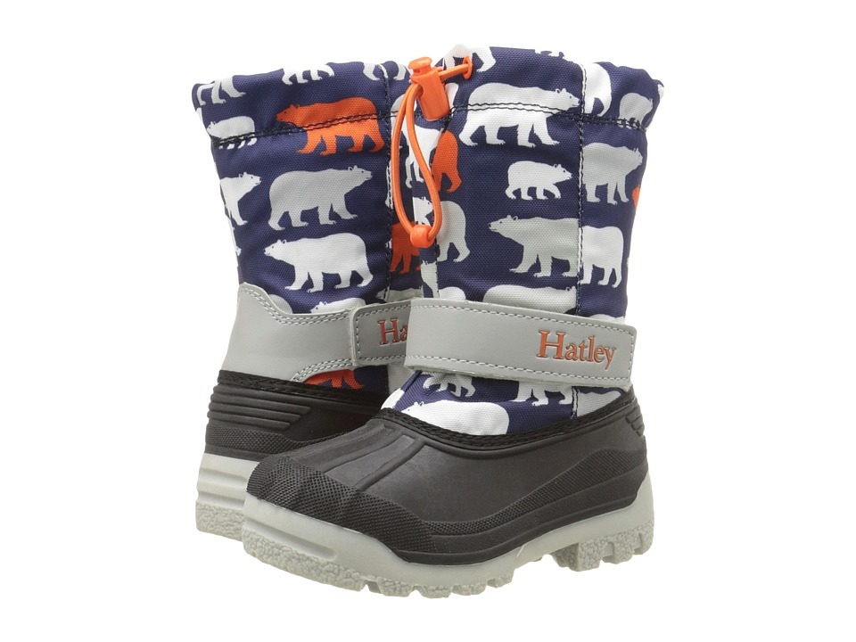 Hatley Kids - Winter Boots (Toddler/Little Kid) (Polar Bears) Boys Shoes