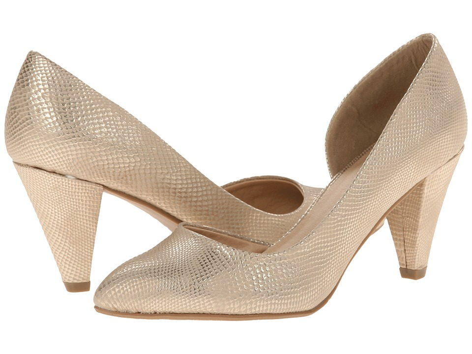 CL By Laundry - Angelina (Gold) Women's 1-2 inch heel Shoes