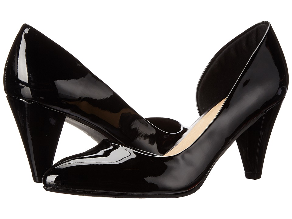CL By Laundry - Angelina (Black) Women's 1-2 inch heel Shoes
