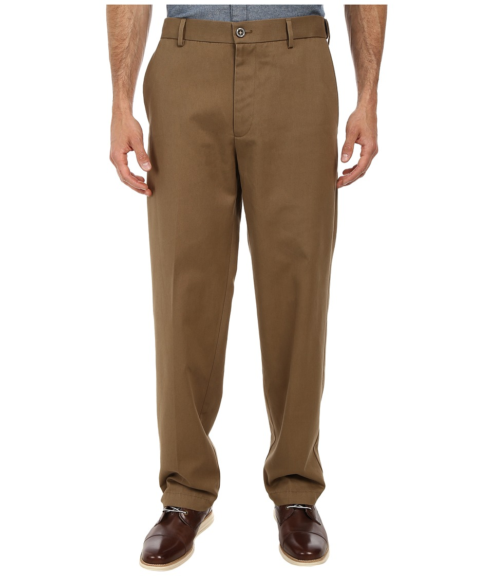 Dockers Men's - Comfort Waist Khaki D3 Classic Fit Flat Front (Taupe) Men's Casual Pants