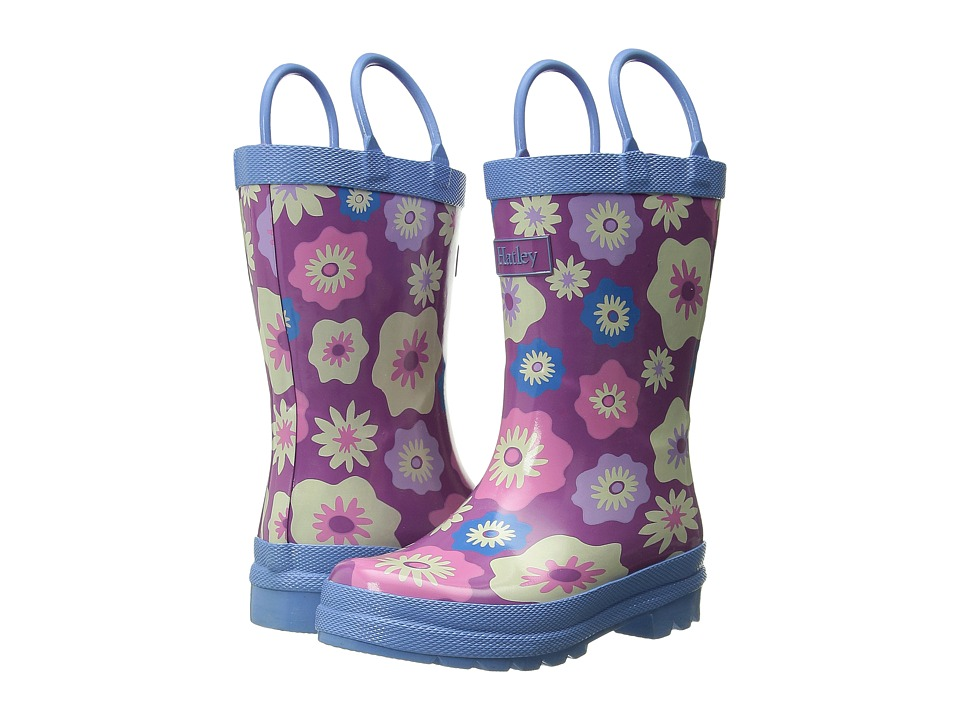 Hatley Kids - Rainboots (Toddler/Little Kid) (Graphic Flowers) Girls Shoes