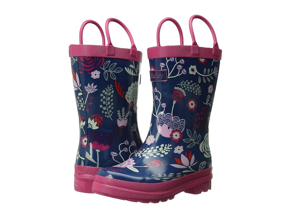 Hatley Kids - Rainboots (Toddler/Little Kid) (Field Flowers) Girls Shoes