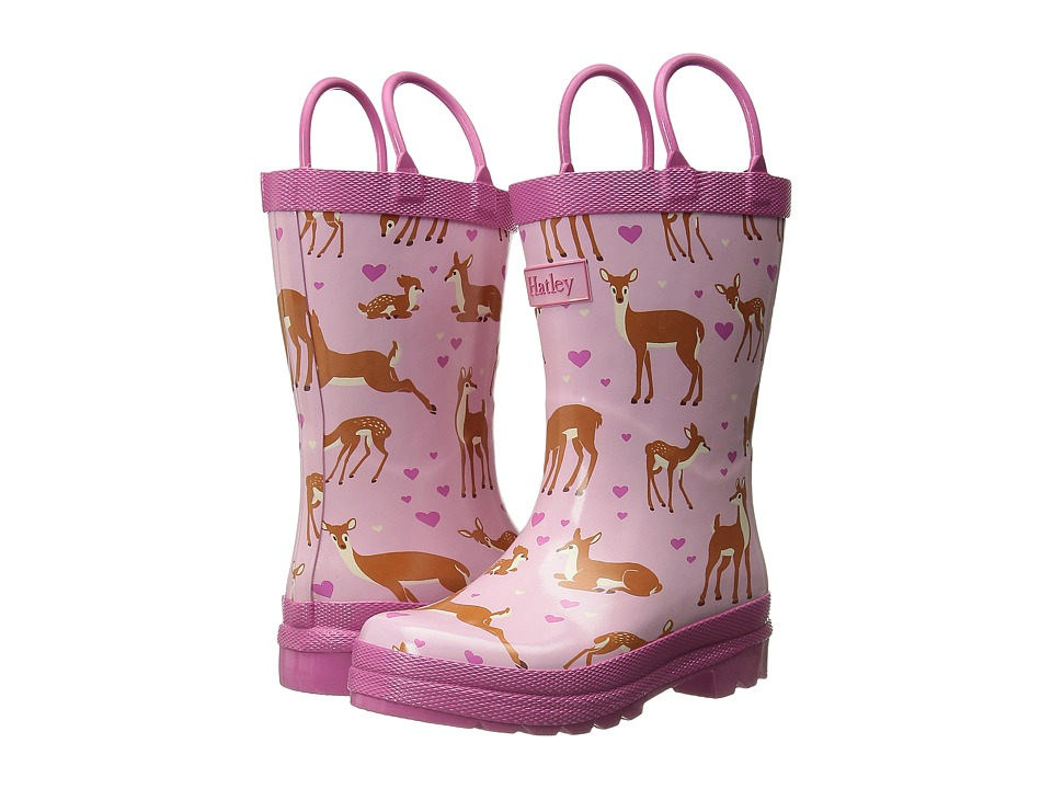 Hatley Kids - Rainboots (Toddler/Little Kid) (Soft Deers) Girls Shoes