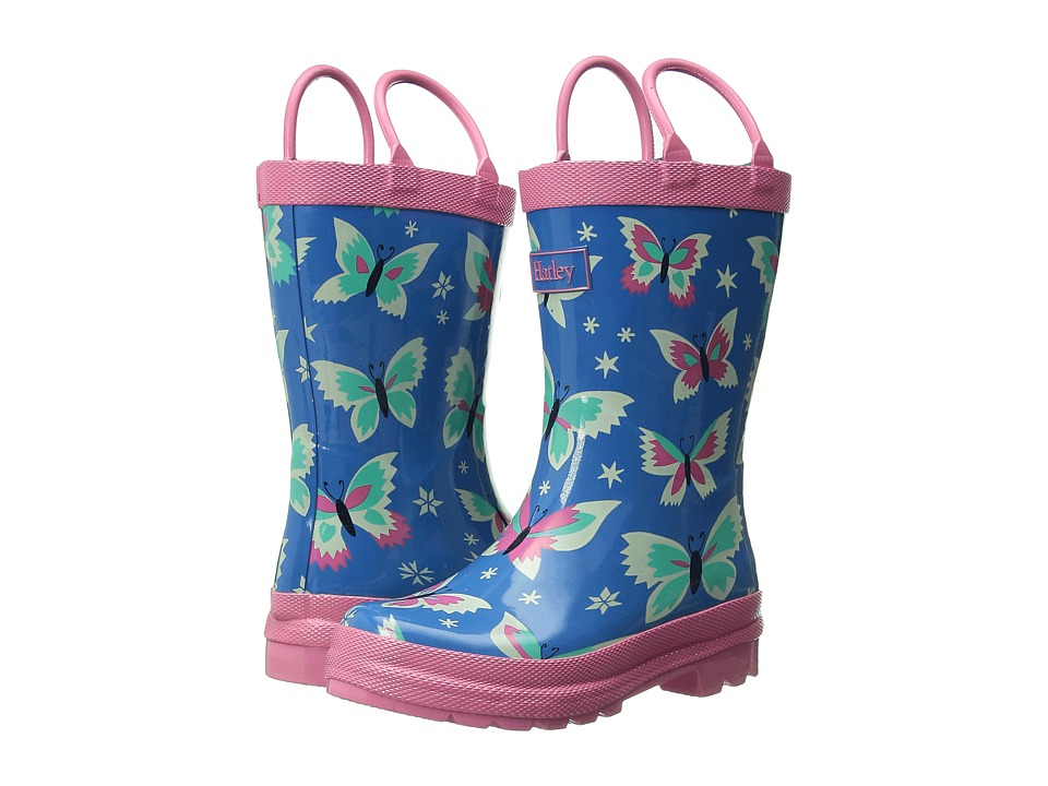 Hatley Kids - Rainboots (Toddler/Little Kid) (Butterflies) Girls Shoes