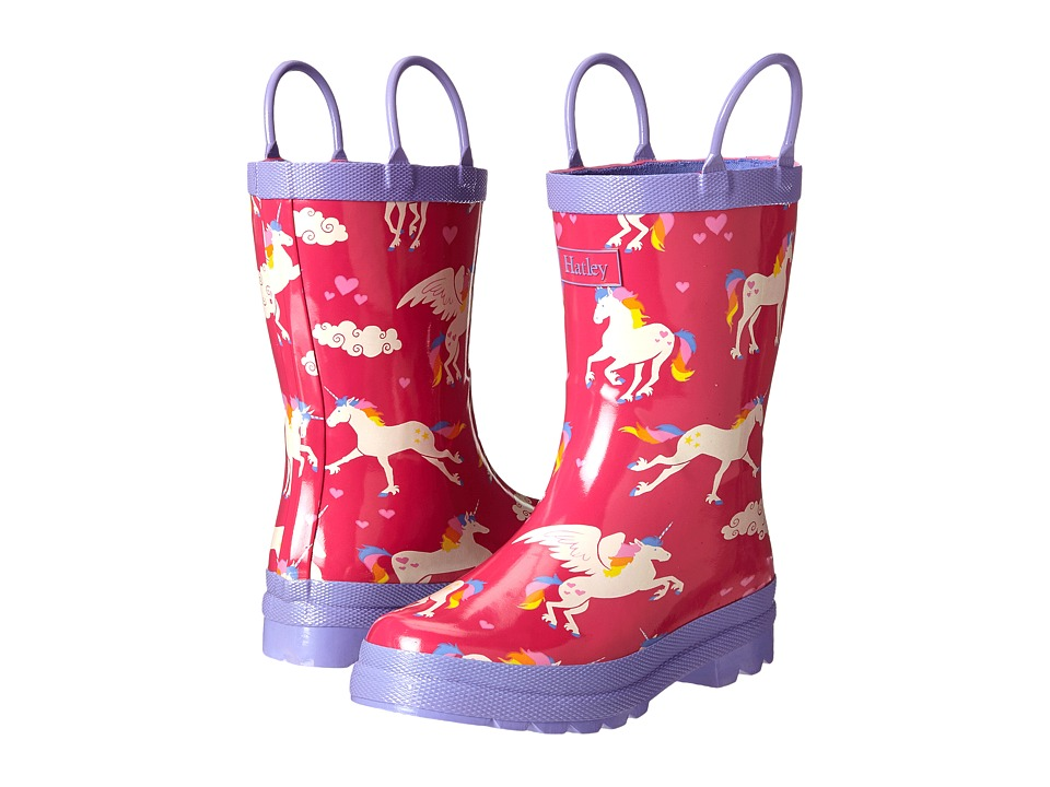 Hatley Kids - Rainboots (Toddler/Little Kid) (Unicorns/Rainbows) Girls Shoes