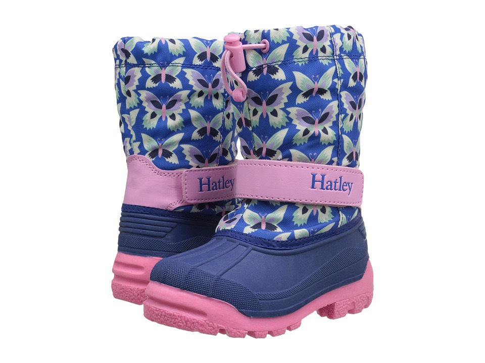 Hatley Kids - Winter Boots (Toddler/Little Kid) (Butterflies) Girls Shoes