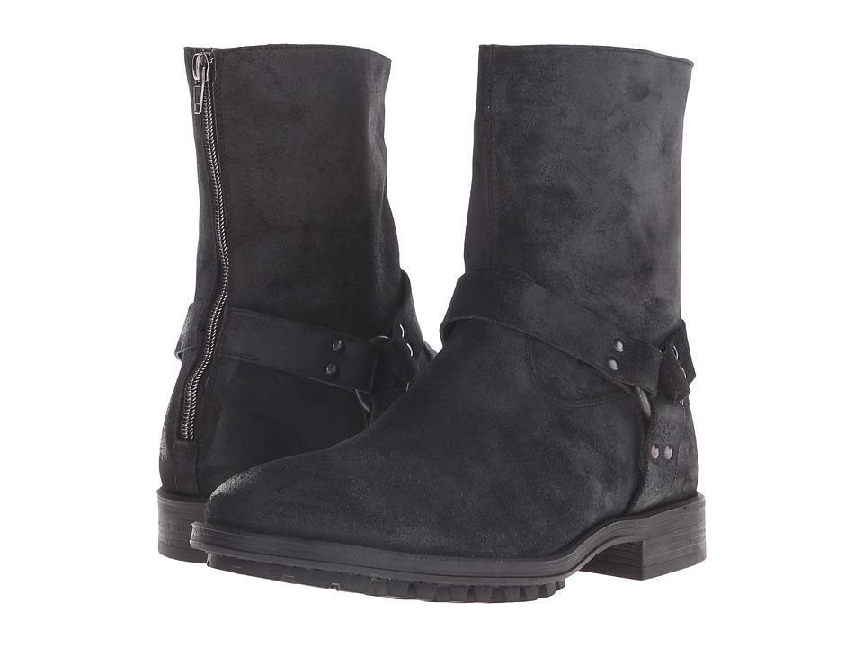 To Boot New York - Darrin (Black) Men's Zip Boots