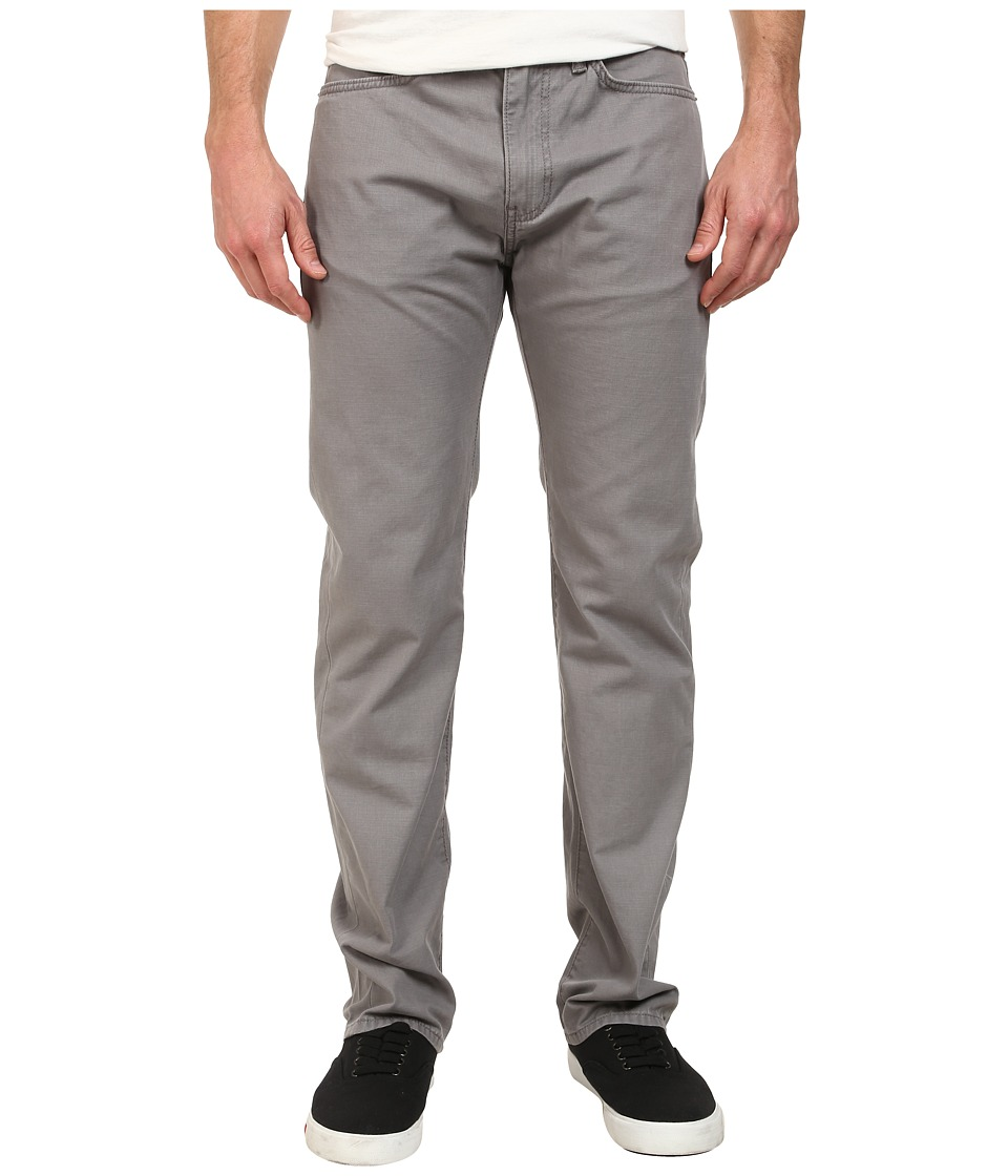 Dockers Men's - Five-Pocket Straight Heritage Wash Pants (Gravel) Men's Casual Pants