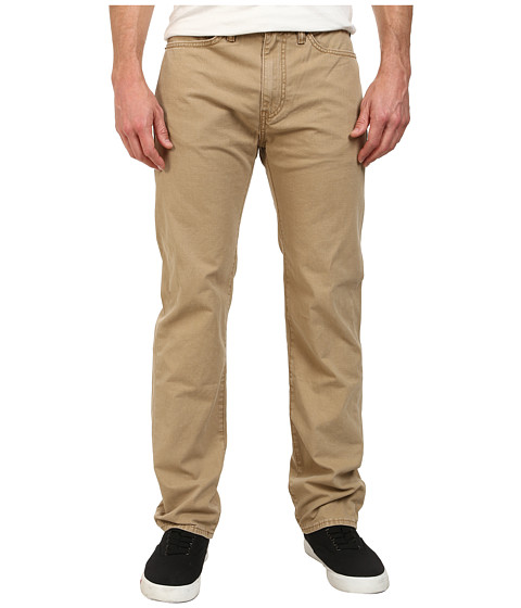 Dockers Men's - Five-Pocket Straight Heritage Wash Pants (New British Khaki) Men's Casual Pants