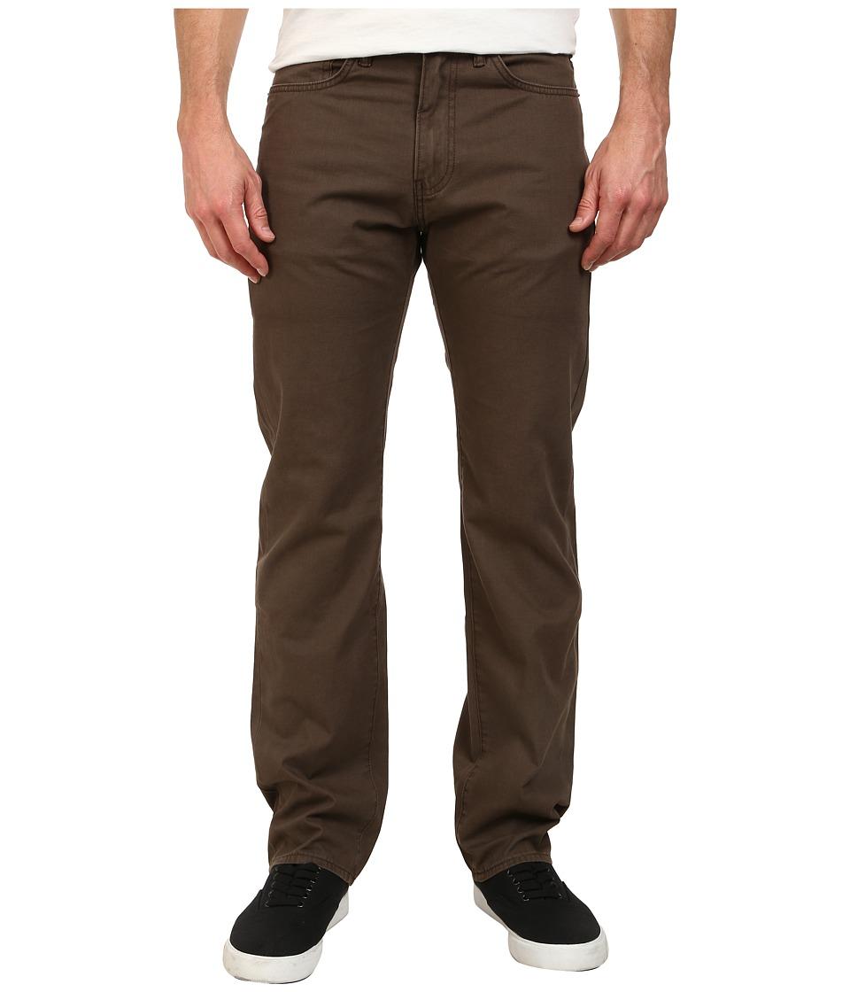 Dockers Men's - Five-Pocket Straight Heritage Wash Pants (Coffee) Men's Casual Pants