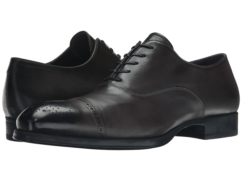 To Boot New York - Justin (Grey) Men's Lace Up Cap Toe Shoes