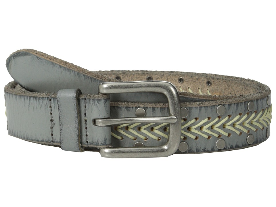 COWBOYSBELT - 309050 (Light Grey) Women's Belts
