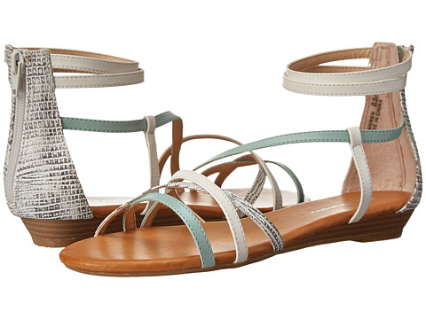 CL By Laundry - Shannen (Cool Mint/White/White) Women's Sandals