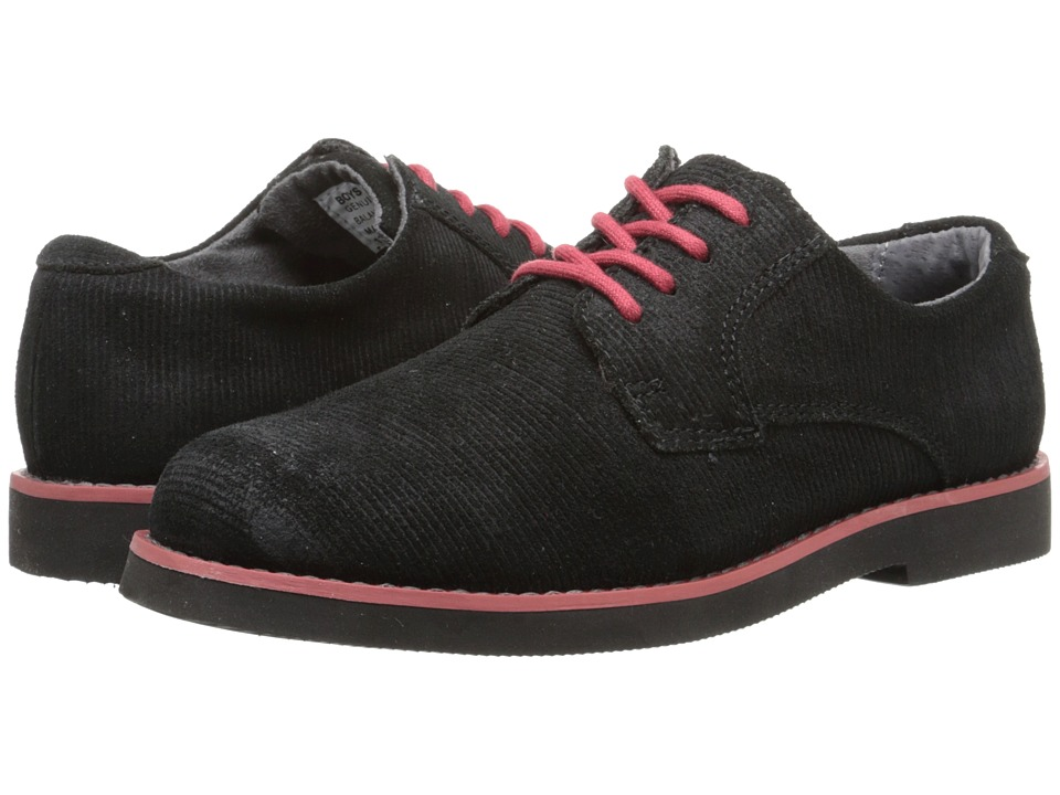 Florsheim Kids - Kearny Jr. (Toddler/Little Kid/Big Kid) (Black And Red/Black Sole) Boys Shoes