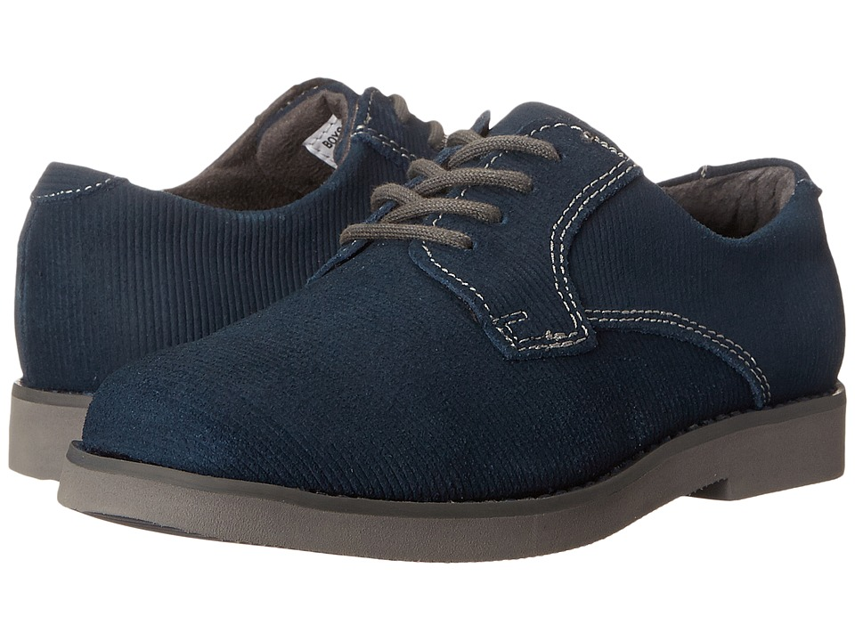Florsheim Kids - Kearny Jr. (Toddler/Little Kid/Big Kid) (Dark Blue/Gray Sole) Boys Shoes