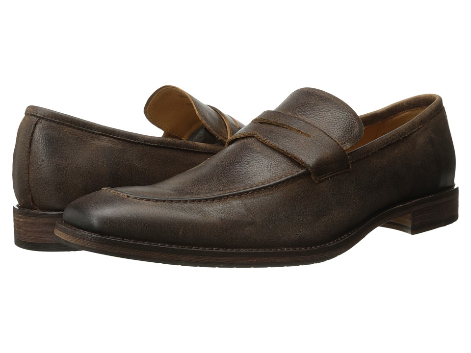 Ron White - Aiden (Pretzel Antique Pebble Calf) Men's Shoes
