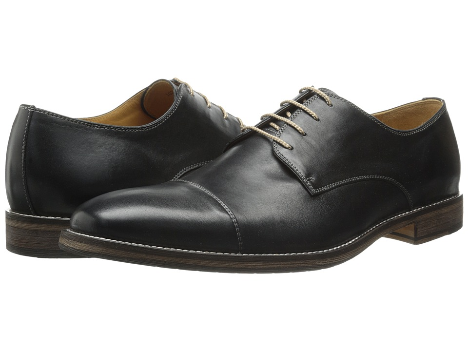 Ron White - Adam (Black Burnished Calf) Men's Shoes