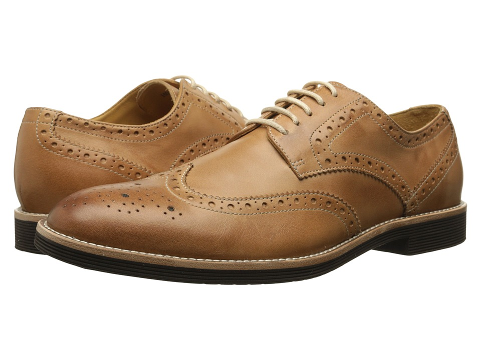 Ron White - Weston Calf (Camel Soft Antiqued Calf) Men's Shoes