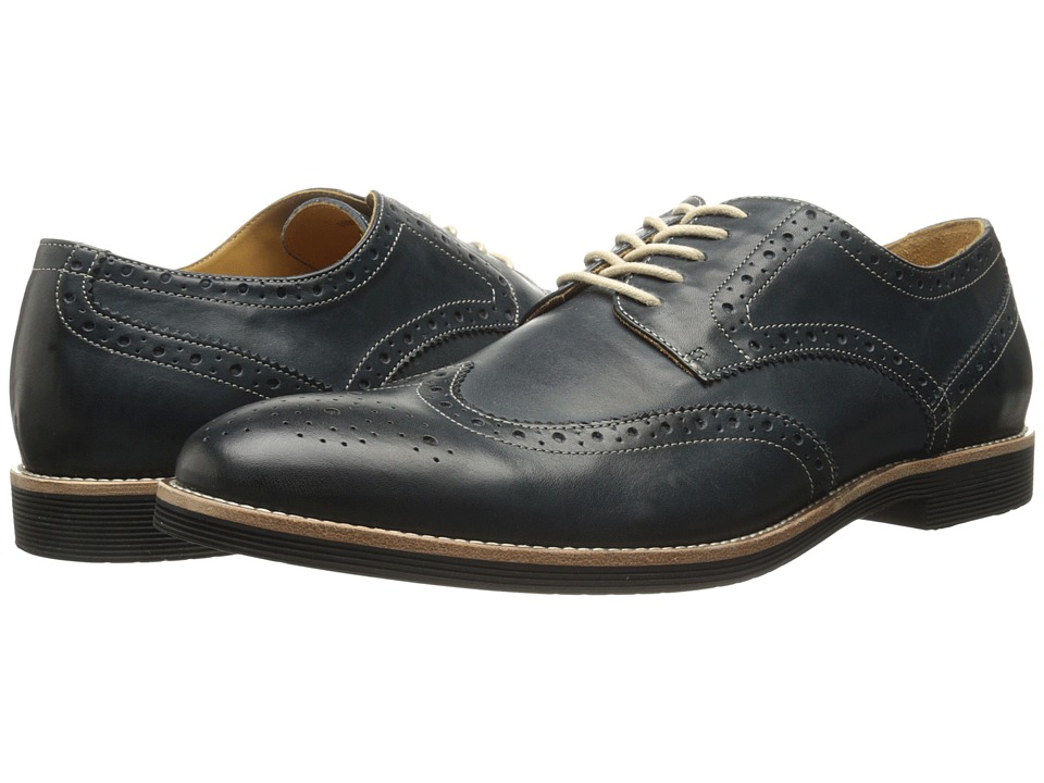 Ron White - Weston Calf (Navy Soft Antiqued Calf) Men's Shoes