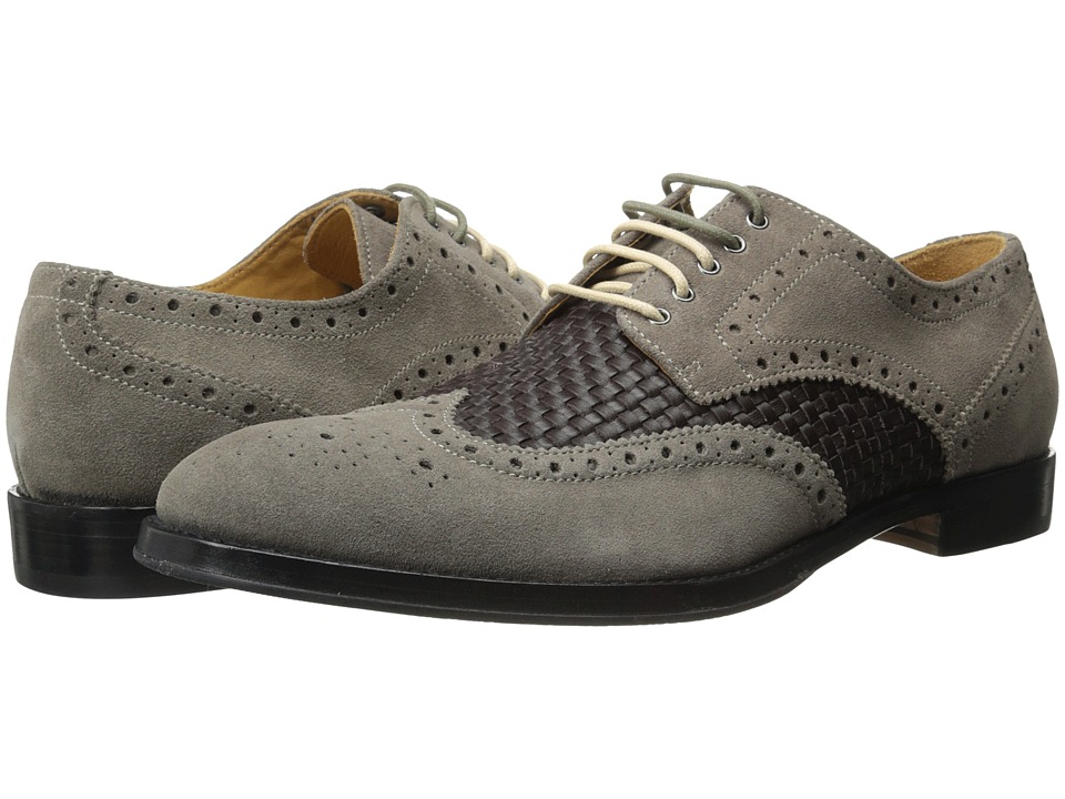 Ron White - Wilton (Slate Suede/Woven Calf) Men's Shoes