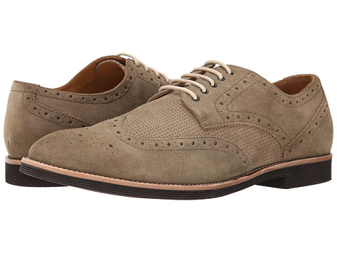 Ron White - Weston Suede (Sand Suede/Perfored Suede) Men's Shoes