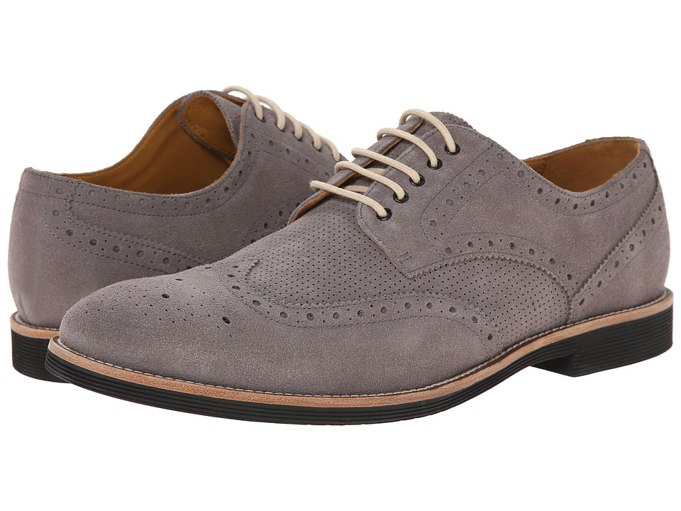 Ron White - Weston Suede (Slate Suede/Perfored Suede) Men's Shoes