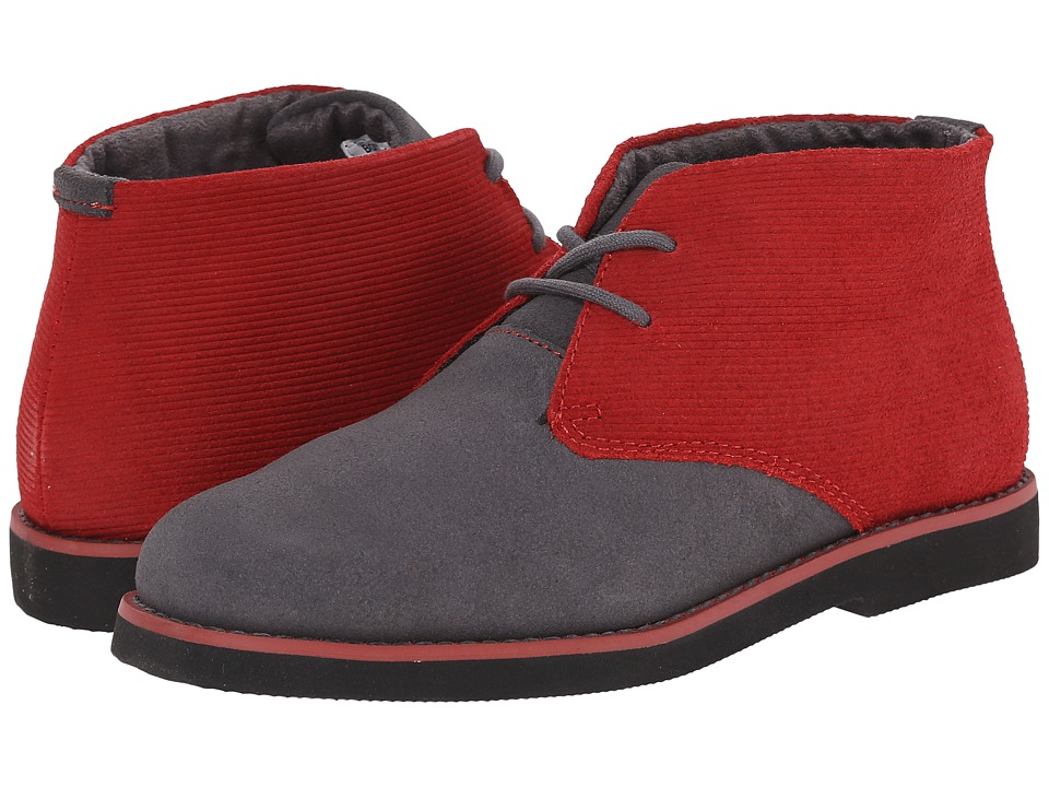 Florsheim Kids - Quinlan Jr. (Toddler/Little Kid/Big Kid) (Dark Gray/Black Sole) Boy's Shoes