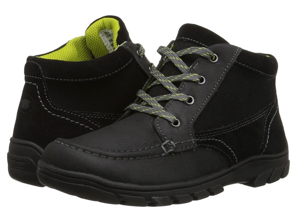 Florsheim Kids - Trektion Hiker Boot Jr. (Toddler/Little Kid/Big Kid) (Black) Boys Shoes