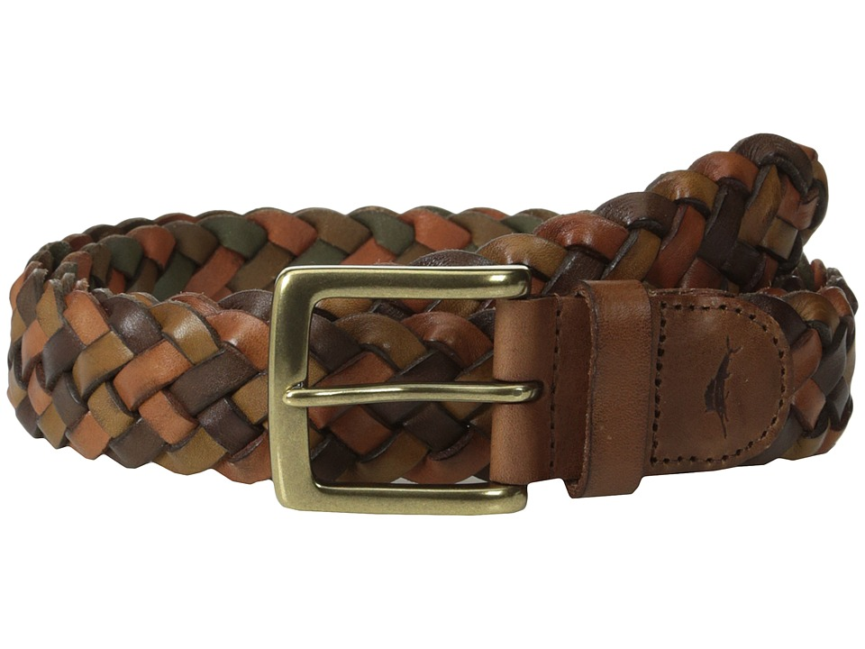 Tommy Bahama - Tessere (Multi Neutral) Men's Belts