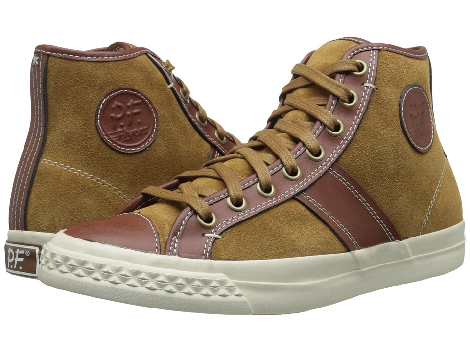 PF Flyers - Rambler (Tarnish Suede/Leather 1) Men's Lace up casual Shoes