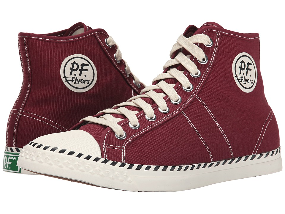 PF Flyers - Rambler (Burgundy Canvas) Men's Lace up casual Shoes