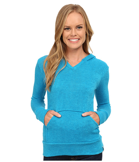 KAVU - Happy Hoodie (Electric Blue) Women's Sweatshirt
