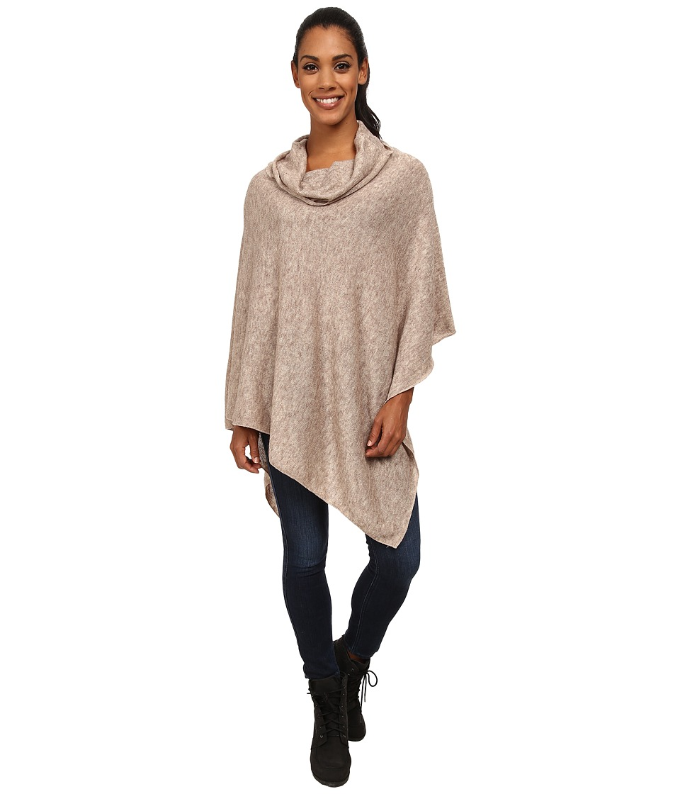 KAVU - Pretty Poncho (Taupe) Women's Clothing