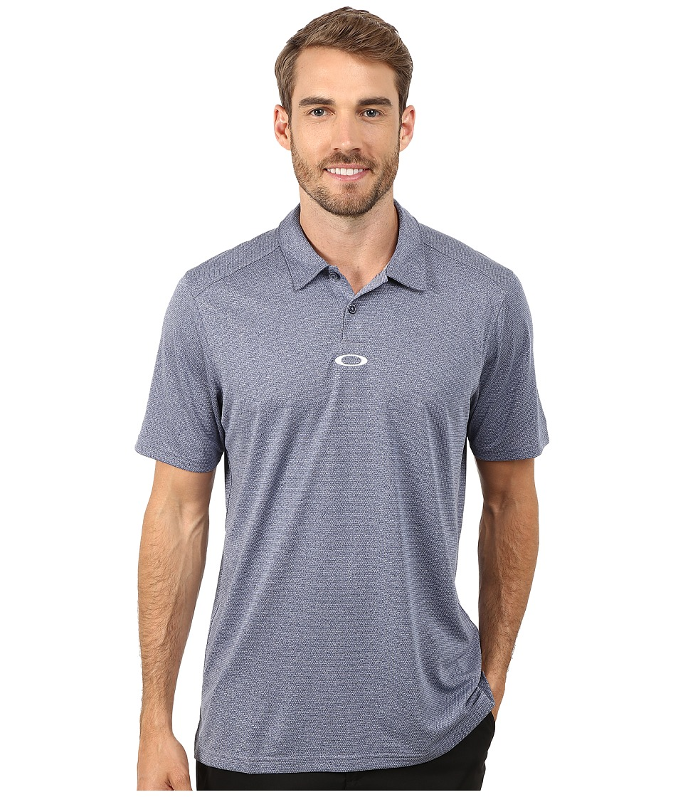 Oakley - Adams Polo (Peacoat) Men's Clothing