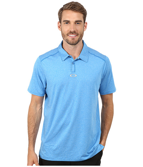 Oakley - Newlyn Polo (Electric Blue) Men's Short Sleeve Knit