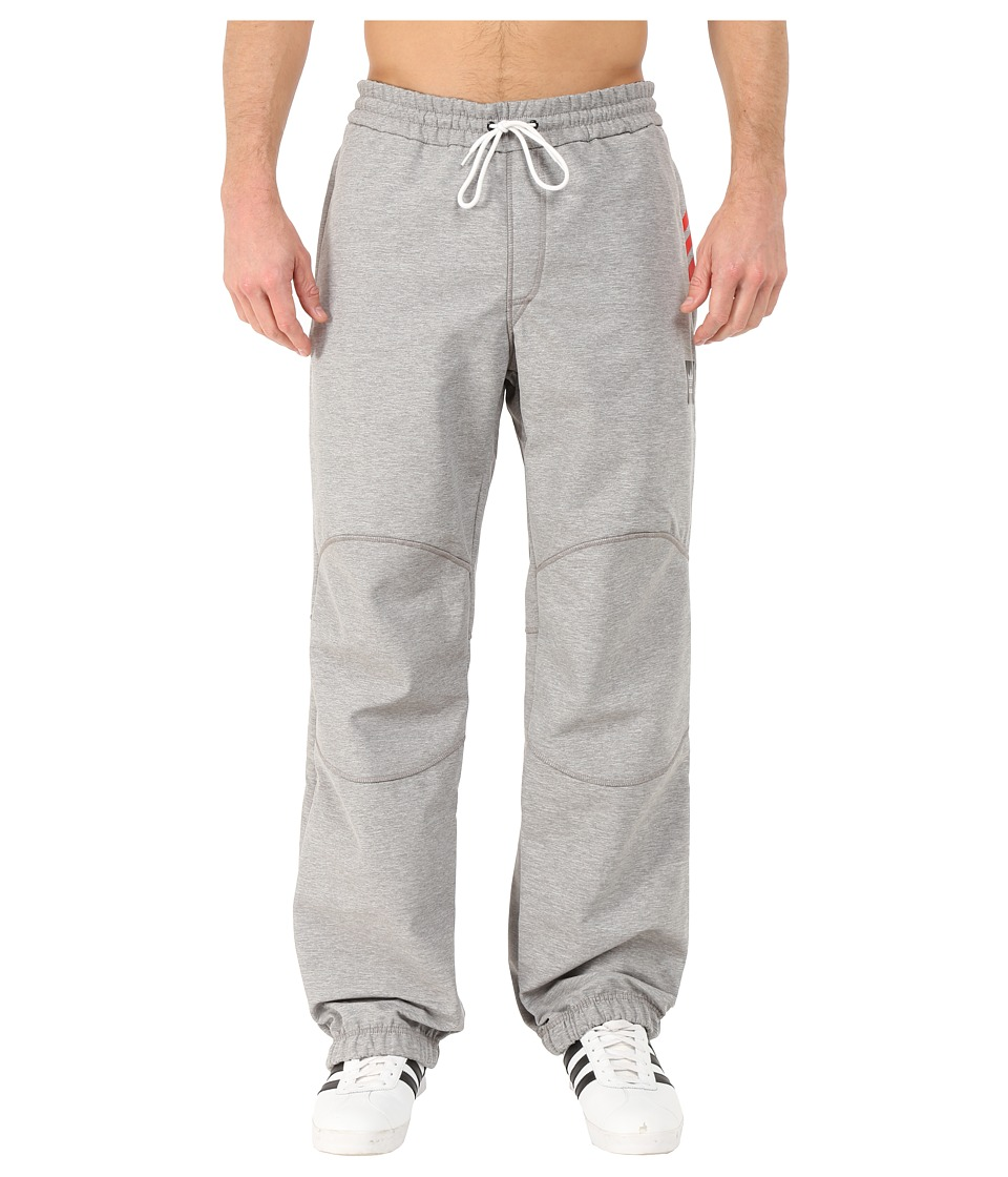 adidas Skateboarding - Soft Shell Jogger Pants (Core Heather) Men's Casual Pants