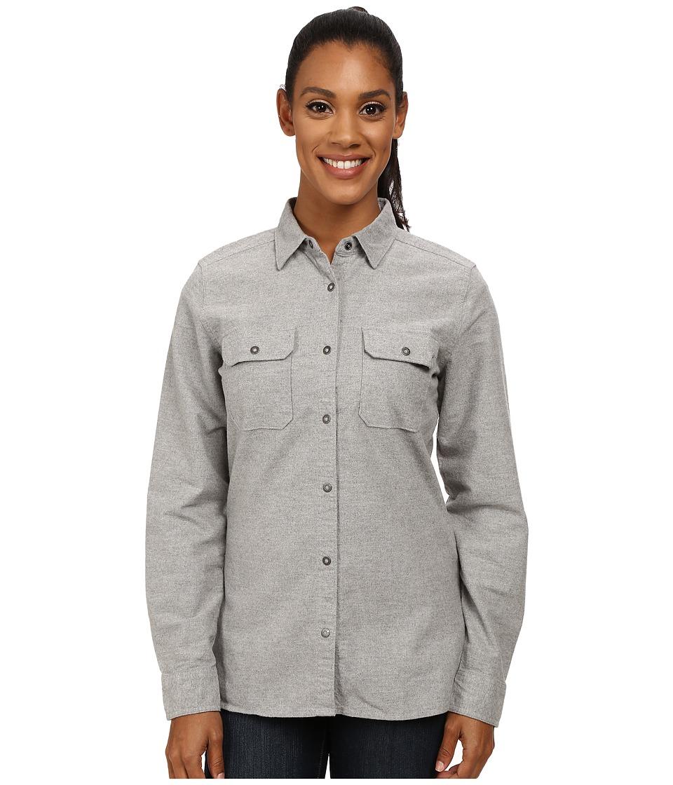 Woolrich - Heather Chamois Shirt (Twilight Heather 1) Women's Long Sleeve Button Up